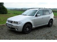 BMW X3 3.0 Sport X Drive Steptronic Automatic. Immaculate Condition