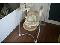 gRACO BABY SWING £25 ONO BOXED, ELECTRIC AND MINT CONDITION
