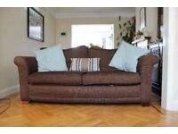 2 Brown Sofa's ***FREE*** buyer collects