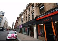 1 Bed Furnished 1/F Apartment with study, High St, Merchant City