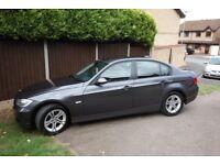 BMW 320D SE LEATHER BLUETOOTH FSH 177BHP 59MPG NOV 07 3 SERIES GREY (2007)