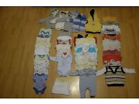 Baby Boys Bundle Of Clothes (newborn to 3 months)