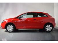 SEAT IBIZA 1.2 S A/C 3d 69 BHP (red) 2015