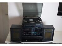 Philips Record Cassette Radio CD Stereo System Vintage & Pioneer CDP PO-Z82M
