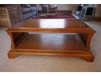 Solid Oak wooden TV Table