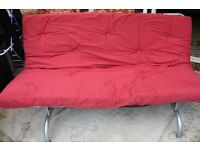 Double Sofa Bed - Red - Ikea