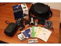 Sony HDR-SR10E Full HD Camcorder 40GB + All accessories - £120 - MUST GO - HOUSE CLEAR OUT