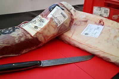 Herstellung der Fleischmasse für die selbstgemachten Bratwürste – ohne Fleischwolf geht hier nichts!