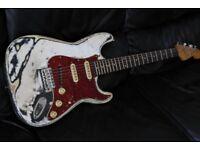 Fender Squier Korean Fender Relic electric guitar samick factory stratocaster