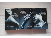 E L JAMES FIFTY 50 SHADES OF GREY TRILOGY - DARKER, FREED BOOKS