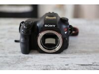 Sony Alpha A57 Digital Camera and 3 Lenses