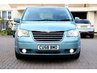CHRYSLER GRAND VOYAGER 2.8 CRD LIMITED EDITION AUTO 5 DR FSH HPI CLEAR 3 KEYS TOP SPEC EXC CONCITION