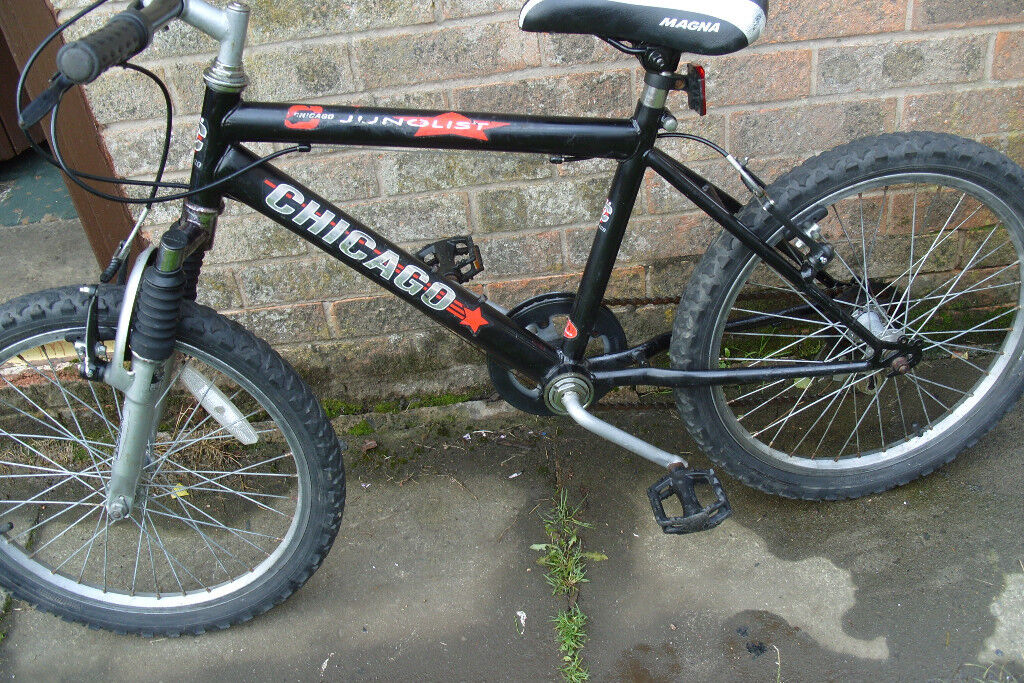 Boys cheap used Mountain bike 13 inch frame, suit a 5 to 10 year old ...