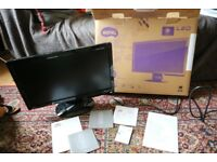 BenQ GL2023 20in LED Backlight Monitor with Original Box & Documents
