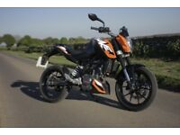 KTM Duke 125 2012 29000 Miles MOT until May 2019