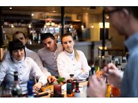 SKILLED WAITERS wanted for busy Bankside location (immediate start)