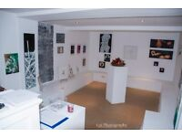 offering a gallery and spaces to hire in gallery , BRICKLANE