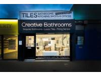 Qualified Plumber and Bathroom Fitters / Visit our Showroom