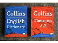 Collins Dictionary and Collins Thesaurus