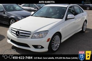 2008 Mercedes-Benz C-Class C230 4MATIC/AWD, TOIT OUVRANT, CUIR,