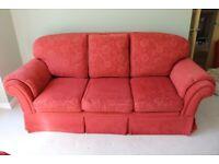 High back 3-seater sofa