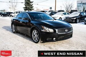 2011 Nissan Maxima SV,Front wheel drive, V6,Leather