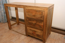 Solid Mango wood computer/dressing table