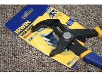 "IRWIN VISE GRIP 10"" 250mm Quick Adjust GrooveLock 52mm Jaw Waterpump Pipe Pliers tools"
