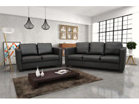 EXCLUSIVE CUBE SOFA'S**50% OFF RRP**AVAILABLE IN LEATHER OR FABRIC
