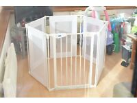 BabyStart Metal and Fabric Playpen