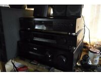 Sony Stereo Separates, 4 channel amp, CD player, DAB Radio and Remote