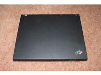 IBM Thinkpad T42 laptop