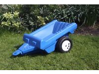 Childs trailer to fit tractor etc