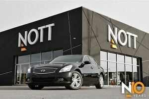 2012 Infiniti G37X AWD, backup cam, moonroof, Htd leather!