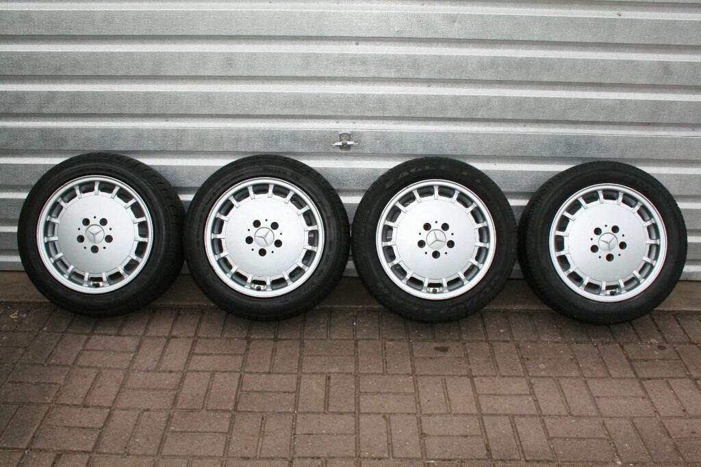 Mercedes r129 w201 190e evo1 alloy wheels 8x16 inch for Mercedes benz 190e rims