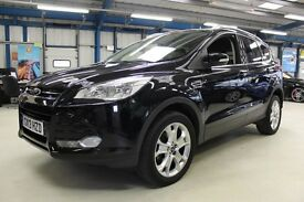Ford Kuga TITANIUM TDCI [LEATHER / BLUETOOTH / SONY DAB] (panther black metallic) 2013