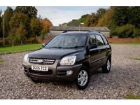 Kia Sportage 4x4 2.0 XE 5 Door in Black - VERY LOW MILEAGE - IMMACULATE!!
