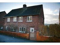 Two Bedroom Semi Detached Home in Lanchester village.