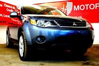 2009 Mitsubishi Outlander XLS 4WD 7P LEATHER SUNROO