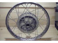 Norton Rebuilt Rear Wheel,
