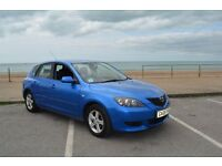 2005 MAZDA 3 1,6 TS DIESEL -NEW MOT AND SERVICE- £ 1100 or exchanges for bigger family car