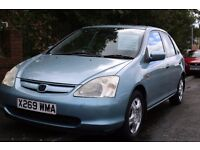 2001 Honda Civic, Very clean, Amazing Runner, Quick Sale, MOT May 2017, 1.6 VTEC SE, 92K Miles Only