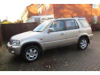 Honda CRV 2001 4x4. very nice condition ''Low mileage''
