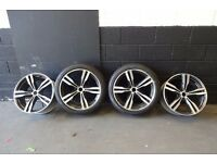 "20"" GENUINE BMW ALLOYS (M4/M6/8 SERIES/i8/VW TRANSPORTER) 2 WITH PIRELLI TYRES"