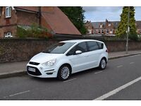 LHD 2013 Ford S-Max 2.0 EcoBoost 240 Titanium X left hand drive in London