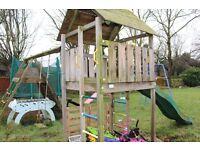 Climbing frame, swing, treehouse etc...