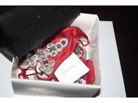 Luxury, Silk, Bejewelled, La Perla Lingerie from Harrods £185