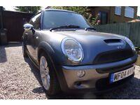 2004 Mini Cooper S - anthracite grey, black roof, Good condition 66,000 miles