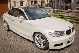 BMW 135i Coupe 08 67k! M-Sport -Manual, Red Leather, VGC