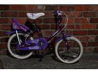 "Kids Bike Raleigh Butterfly 14"""